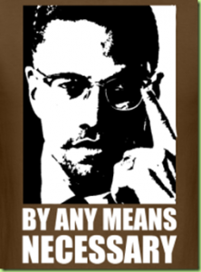 Malcolm X, Any means Necessary, mindset development